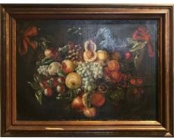 Tablou natura moarta, tablou natura statica, Late 18th-Early 19th Century Fruit Still Life