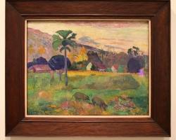 Tablou peisaj pictat de PAUL GAUGUIN , Haere Mai, 1891, tablou peisaj de vara, Tablouri Pictori Celebri, Reproduceri Picturi Celebre