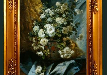 Tablou pictat flori de tufanica, Tablou floral, idei de cadouri, aranjamente  florale pentru ocazii deosebite