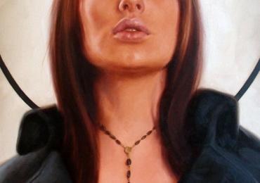 Tablou pictat la comanda, portrete la comanda, Tablouri pictate personalizate, portret de femei, portret modern