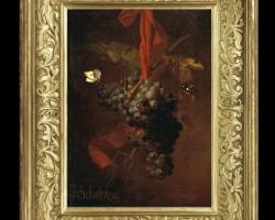 Tablou pictat natura moarta cu struguri, idei de cadouri pentru ocazii deosebite