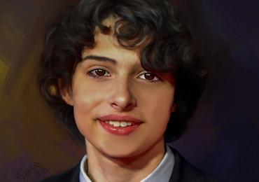 Tablou portret de adolescent la comanda, Tablouri pictate personalizate, Portret de barbat, portret de adolescent, portret de iubit