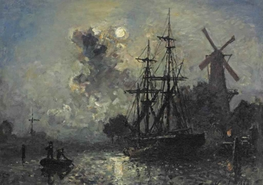 Tablou reproducere celebra pictata de Johan Barthold