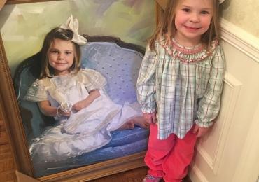 Tablouri cu copii. Portrete pictate manual, portret la comanda, cele mai frumoase portrete