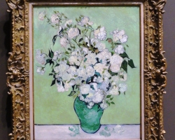 Tablouri cu flori Realizate la Comanda Vincent van Gogh, Roses 1890 Tablouri Faimoase cu nat