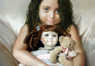 Tablouri pictate cu copii, portrete la comanda, Tablouri pictate personalizate