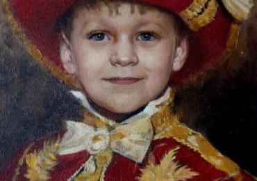 Tablouri pictate personalizate dupa picturi celebre, Portrete in creion, tablouri la comanda