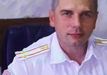 Tablouri pictate, portrete la comanda, Tablouri pictate personalizate, portret de aviator