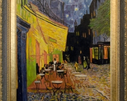 Terasa de cafea Vincent Van Gogh,Tablouri Pictori Celebri, Reproduceri Picturi Celebre