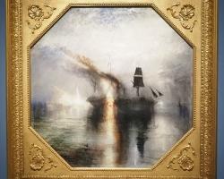 Turner. Horror and Delighttablou peisaj marin, tablou peisaj cu vapor in flacari, Tablouri Pictori Celebri, Reproduceri Picturi Celebre
