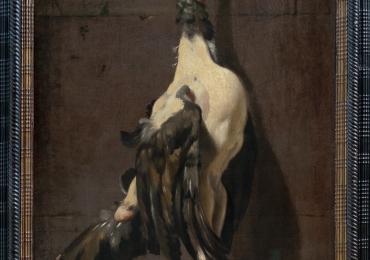 Vélasquez, natura moarta cu un curcan pregatit pentru gatit, Tablou natura moarta, tablou natura statica