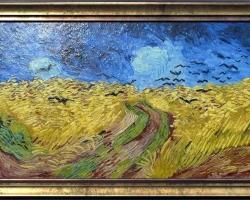 Van Gogh Oil Painting. Tablou pictat manual in ulei pe panza. Gama de lux