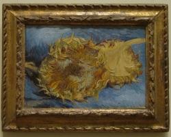 Van Gogh, Two cut sunflowers, 1887, Tablouri cu flori Realizate la Comanda, Reproduceri Pictu