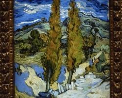 Van Gogh, peisaj de vara celebru, Reproduceri pictori celebri.