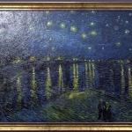 Van Gogh. Tablou pictat manual in ulei pe panza. Gama de lux