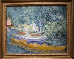 Vincent Van Gogh, tablou cu caiace pe lac, tablou peisaj de vara, Reproduceri pictori celebri