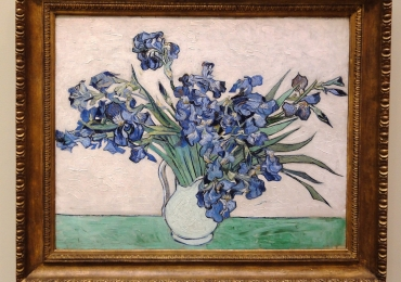Vincent van Gogh, Irises 1890, Tablouri cu flori Realizate la Comanda, Reproduceri Picturi Celebre cu flori, Tablouri Faimoase