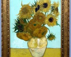 Vincent van Gogh Sonnenblumen, 1888, Tablouri cu flori Realizate la Comanda, Reproduceri Pi