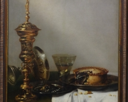 Willem Claesz Heda Breakfast still life with lidded goblet, 1634, Tablouri cu flori Realizate la C