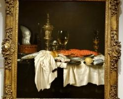 Willem Claesz, Heda Stll life with a lobster, Tablouri cu flori Realizate la Comanda, Reproducer