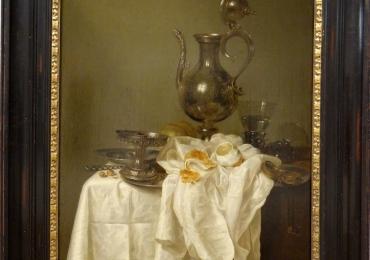 Willem Claesz. Heda Nature morte a l'aiguiere, Tablouri cu vase din argint, Reproduceri Picturi