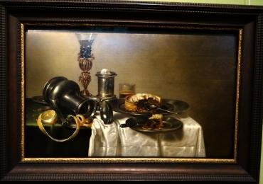 Willem Claesz. Heda and Cornelis Mahu, Breakfast still life, Tablouri cu argintarie, Reproduceri