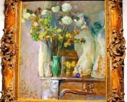Édouard Vuillard French, Guelder Roses and the Venus de Milo 1905, Tablouri cu flori Realizate la Comanda, Reproduceri Picturi Celebre