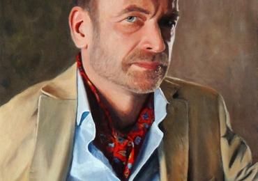 portret de barbat elegant, Idei de cadouri pentru barbati, portrete la comanda, Tablouri pictate portrete