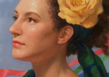 portrete realizate de pictor portretist. Portrete de femei pictate manual