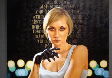tablou modern cu femeie, Portrete personalizate, portrete la comanda, Tablouri pictate in uleii