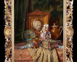 tablou natura statica, idei de cadouri pentru ocazii deosebite,Tablou pictat natura moarta